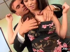 asian secretary sex video