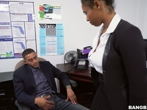 indian girl office desk anal