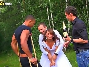 Party naked wedding nude