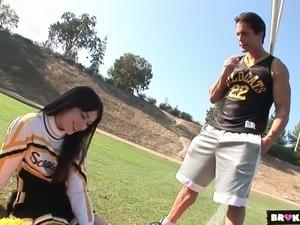hot cheerleader sex video