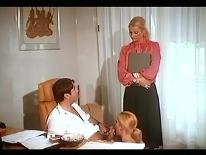 hot lesbian secretary seduces wife