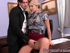 handjob clothed movies gallery