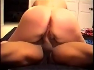 Huge tits riding cock