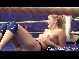 girls sex wrestling with jello