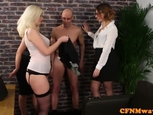 cfnm real blowjob party video