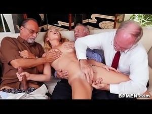 very old sex handjob