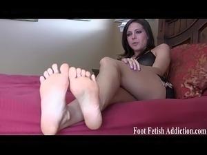 suck stocking feet movie