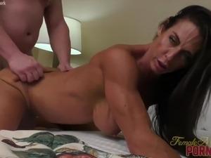 wife deep black cock clit