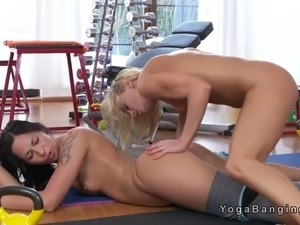 Free lesbian gym teacher sex video