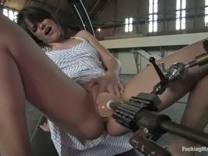 beautiful naked video fuck machine