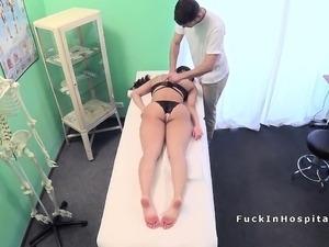 lesbian doctor seduces patient sex video