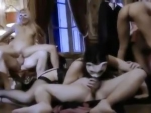 The ultimate orgy of homosexuality