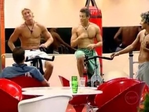big brother topless video