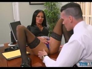 sex videos of busty secretary