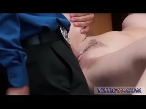 police sex black bra and panties