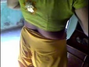 wet transparent saree boobs pics