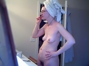 Trisha naked bathroom video