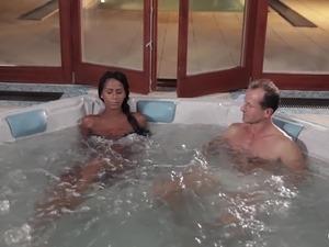 girl in bath tub naked