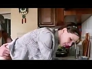 kitchen asian sex