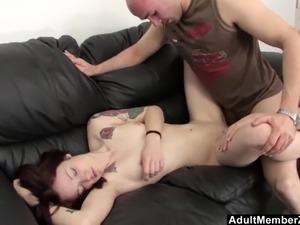 finger anal ass sleeping girl