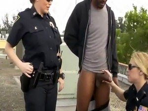 stripped searched girl pussy police