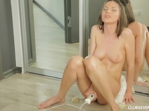 girl first vibrator orgasm video