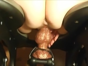 hard deep anal sex machine