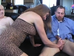 gangbang cumshots brutal wife threesome and
