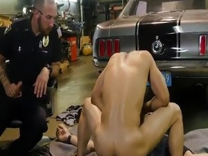 spanking anal sex police