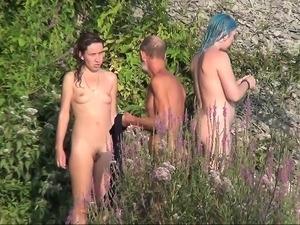 beach topless sex