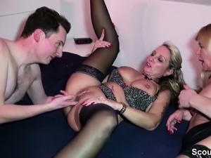 Two girls get a facial