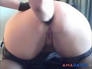 black bbw anal video