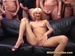 Public orgy video