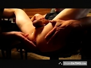 amateur prostate and handjob video