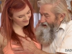 old man threesome sex