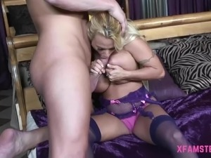 girlfriend has sex wearing high heels
