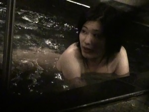 Naked girl in the bath