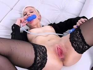 bent over gaping pussy