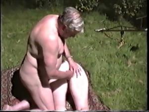 black boobs granny