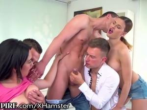 Group sex orgie
