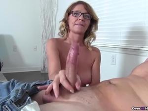 video of alysha giving handjob