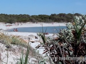 pussy breasts cunt video beach