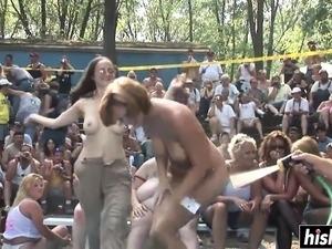 Sexy girls dancing in panties