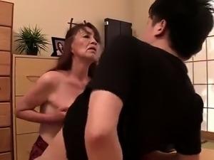 big boobed japanese titjob