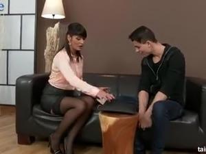 huge breasts stockings vids
