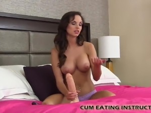 oral amber cum swallowing wife