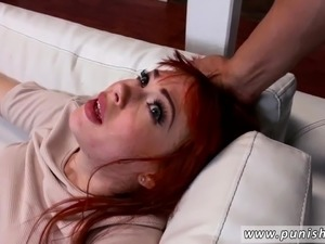 Red headed hairy pussy