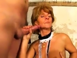 mature oiled anal