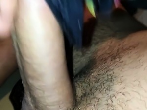 stuffing panty in pussy